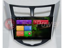 Штатная магнитола RedPower 21067BIPS Hyundai Accent RB, HB Android 4.4+ CarPad 4