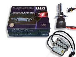 Комплект биксенона Infolight H4 H/L 4300K 35W