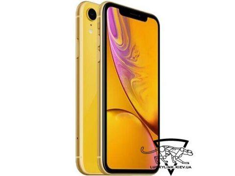 Apple iPhone XR Dual Sim 256GB Yellow (MT1M2)
