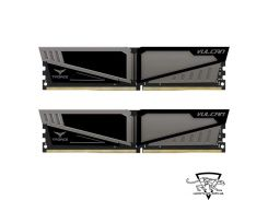TEAM 32 GB (2x16GB) DDR4 2400 MHz T-Force Vulcan Gray (TLGD432G2400HC15BDC01)