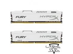 Kingston 32 GB (2x16GB) DDR4 2666 MHz HyperX Fury White (HX426C16FWK2/32)