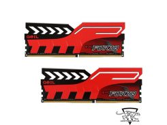 Geil 8 GB (2x4GB) DDR4 2400 MHz EVO Forza Hot-Rod Red (GFR48GB2400C16DC)