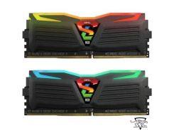 Geil 16 GB (2x8GB) DDR4 3000 MHz Super Luce RGB Lite Stealth Black (GLC416GB3000C16ADC)