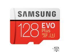 Samsung 128 GB microSDXC Class 10 UHS-I U3 EVO Plus + SD Adapter MB-MC128GA