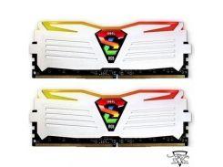 Geil 16 GB (2x8GB) DDR4 3200 MHz Super Luce RGB Lite Frost White (GLWC416GB3200C16ADC)