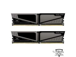 TEAM 32 GB (2x16GB) DDR4 2666 MHz T-Force Vulcan Gray (TLGD432G2666HC15BDC01)