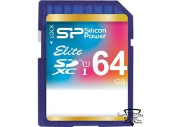 Silicon Power 64 GB SDXC UHS-I Elite SP064GBSDXAU1V10