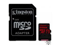 Kingston 256 GB microSDXC class 10 UHS-I U3 Canvas React SDCR/256GB