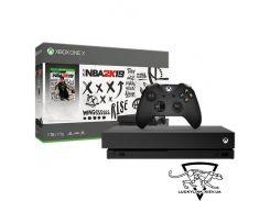 Microsoft Xbox One X 1TB + NBA2K19