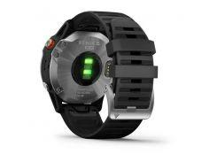 Garmin Fenix 6 Solar Silver with black band (010-02410-00)