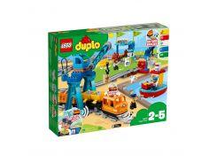 LEGO DUPLO Town Грузовой поезд (10875)