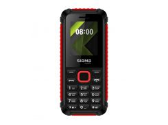 Sigma mobile X-style 18 Track Black/Red
