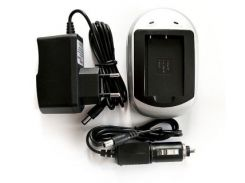 PowerPlant Зарядное устройство для Canon NB-6L, Samsung SLB-10A - DV00DV2232