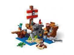 LEGO Minecraft Приключения на пиратском корабле (21152)