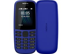 Nokia 105 DS 2019 Blue (16KIGL01A01)