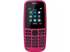 Nokia 105 Single Sim 2019 Pink (16KIGP01A13)
