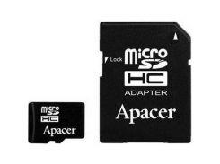 Apacer 16 GB microSDHC Class 10 UHS-I + SD adapter AP16GMCSH10U1-R