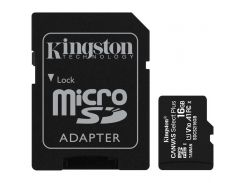 Kingston 16 GB microSDHC Class 10 UHS-I Canvas Select Plus + SD Adapter SDCS2/16GB