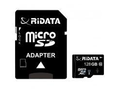 RiData 128 GB microSDXC class 10 UHS-I + SD Adapter FF967403