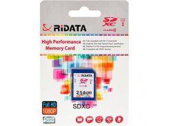 RiData 256 GB SDXC class 10 UHS-I FF970342