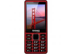 Sigma mobile X-style 36 Point Red