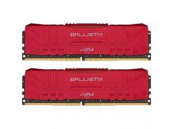 Crucial 16 GB (2x8GB) DDR4 3000 MHz Ballistix Red (BL2K8G30C15U4R)
