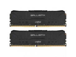 Crucial 16 GB (2x8GB) DDR4 3000 MHz Ballistix Black (BL2K8G30C15U4B)