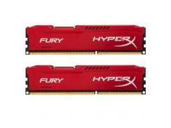Память Kingston 16 GB (2x8GB) DDR3 1866 MHz HyperX FURY (HX318C10FRK2/16)