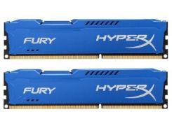 Память Kingston 8 GB (2x4GB) DDR3 1600 MHz HyperX FURY (HX316C10FK2/8)