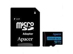 Apacer 256 GB microSDXC Class 10 UHS-I U3 AP256GMCSX10U7-R