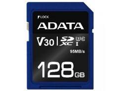 ADATA 128 GB SDXC UHS-I U3 Premier Pro ASDX128GUI3V30S-R