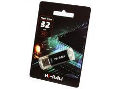 Hi-Rali 32 GB USB Flash Drive Rocket series Black (HI-32GBVCBK)