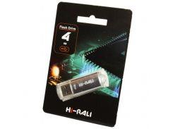 Hi-Rali 4 GB USB Flash Drive V-Cut series Silver (HI-4GBVCSL)