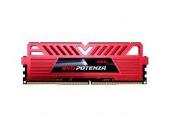 Geil 8 GB DDR4 2666 MHz EVO Potenza Red (GPR48GB2666C19SC)