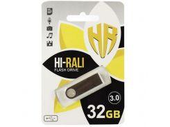 Hi-Rali 32GB Shuttle Series USB 3.0 Silver (HI-32GB3SHSL)