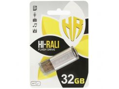 Hi-Rali 32 GB Stark series Silver (HI-32GBSTSL)