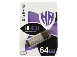 Hi-Rali 64GB Stark Series USB 2.0 Silver (HI-64GBSTSL)