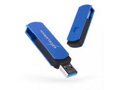 Exceleram P2 Black/Blue USB 3.1 EXP2U3BLB64