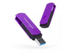 Exceleram P2 Black/Grape USB 3.1 EXP2U3GPB64