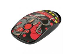 Trust Sketch Silent WL Mouse Red (23336)