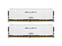 Crucial 16 GB (2x8GB) DDR4 2666 MHz Ballistix White (BL2K8G26C16U4W)