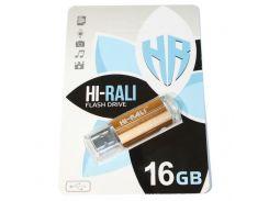 Hi-Rali 16 GB USB Flash Drive Corsair series Bronze (HI-16GBCORBR)