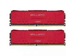 Crucial 16 GB (2x8GB) DDR4 3200 MHz Ballistix Red (BL2K8G32C16U4R)