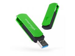 Exceleram P2 Black/Green USB 3.1 EXP2U3GRB32
