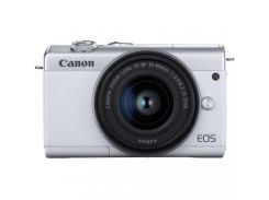 Canon EOS M200 kit (15-45mm) IS STM White
