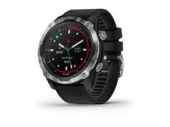 Garmin Descent Mk2 Stainless Steel with Black Band (010-02132-00/10)