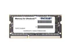 PATRIOT 4 GB SO-DIMM DDR3L 1600 MHz (PSD34G1600L2S)