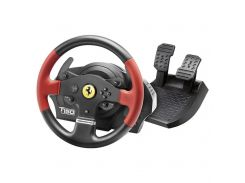Thrustmaster PC/PS3/PS4 T150 Ferrari Wheel with Pedals (4160630)