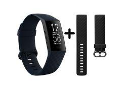 Fitbit Charge 4 Black/Storm Blue (FB417BKNV)