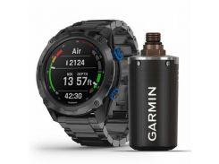 Garmin Descent Mk2i Bundle Titanium Carbon Grey w. Titanium Band w. Descent T1 (010-02132-12)
